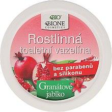 Düfte, Parfümerie und Kosmetik Kosmetische Vaseline mit Granatapfel und Antioxidantien - Bione Cosmetics Pomegranate Plant Vaseline With Antioxidants