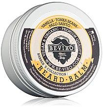 Düfte, Parfümerie und Kosmetik Schnurrbart-Balsam mit Vanille, Palo Santo und Tonkabohnen - Be-Viro Beard Balm Vanilla, Palo Santo, Tonka Boby