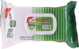 Düfte, Parfümerie und Kosmetik Antibakterielle Reinigungsstücher 80 St. - Detox Pine Scented Antibacterial Virucidal Wet Wipes