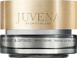 Düfte, Parfümerie und Kosmetik Nachtcreme für normale und trockene Haut - Juvena Prevent & Optimize Night Cream Normal To Dry Skin