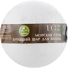 Düfte, Parfümerie und Kosmetik Meersalz Badebombe mit Mangostan- und Vanilleduft - ECO Laboratorie Sea Salt Bomb