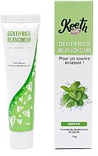 Düfte, Parfümerie und Kosmetik Aufhellende Zahnpasta mit Minzgeschmack - Keeth Mint-flavoured Whitening Toothpaste