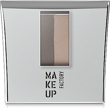 Augenbrauenpuder Duo - Make Up Factory Eye Brow Powder — Bild N2