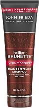Düfte, Parfümerie und Kosmetik Shampoo für braunes und kupferrotes Haar - John Frieda Brilliant Brunette Visibly Deeper Shampoo