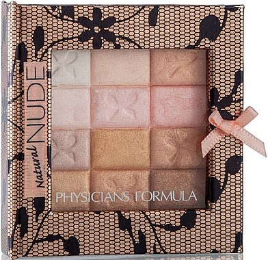 Make-up Set - Physicians Formula Shimmer Strips All-In-1 Custom Nude Palette For Face & Eyes — Bild N2