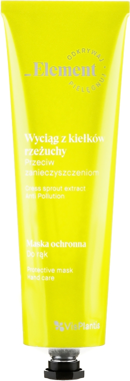 Schützende und reinigende Handmaske mit Kresse-Extrakt - _Element Cress Sprout Extract Protective Hand Mask — Bild N2