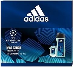 Düfte, Parfümerie und Kosmetik Adidas UEFA Champions League Dare Edition - Duftset (Eau de Toilette 50ml + Duschgel 250ml)
