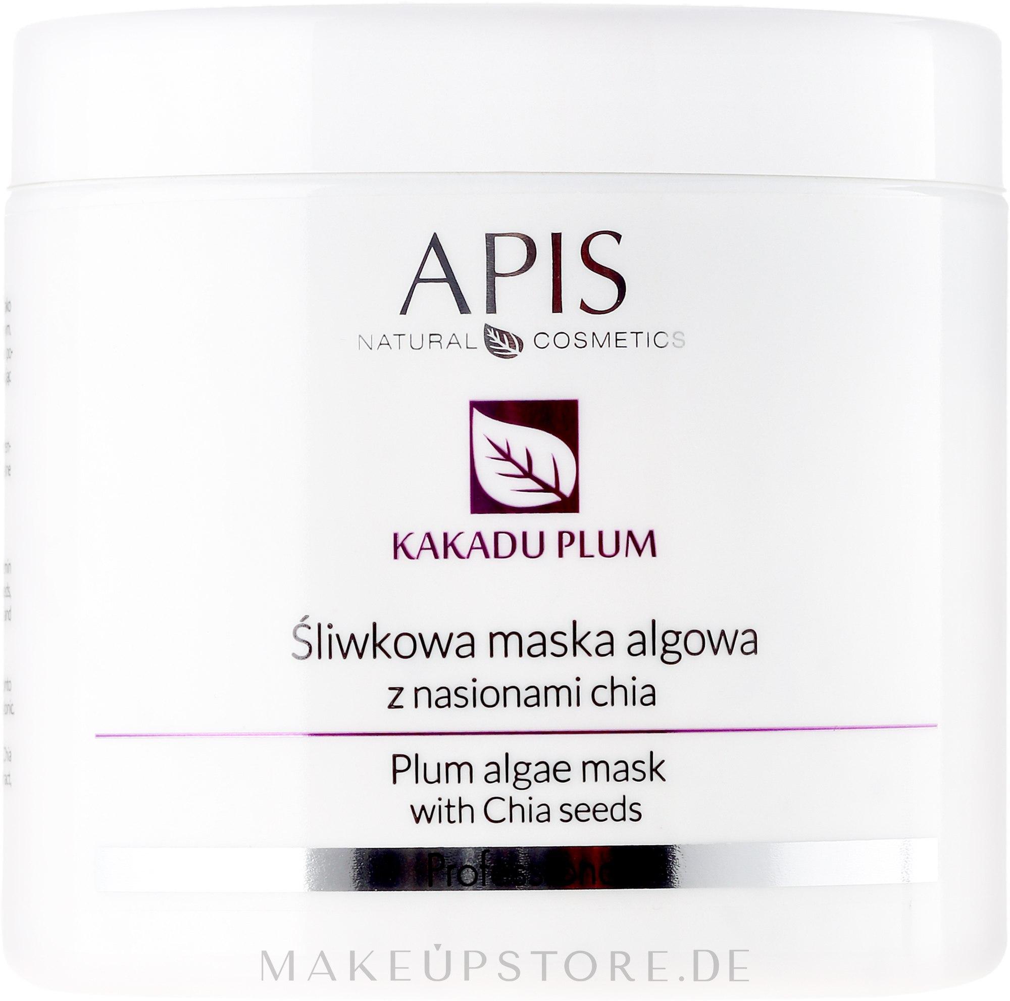Gesichtsmaske mit Pflaumenextrakt und Chiasamen - APIS Professional Kakadu Plum Cream — Bild 250 g
