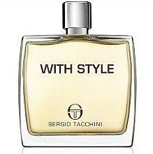 Sergio Tacchini With Style - After Shave Lotion — Bild N1