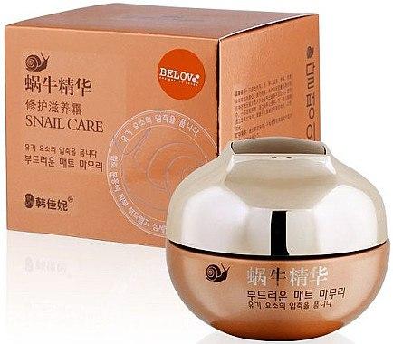 Liftingcreme für das Gesicht mit Schneckenextrakt - Belov Snail Care Cream Han Jia Ne — Bild N2