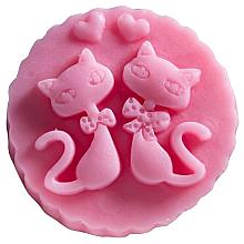 Düfte, Parfümerie und Kosmetik Handgemachte Naturseife Katzen mit Kirschduft - LaQ Happy Soaps Natural Soap
