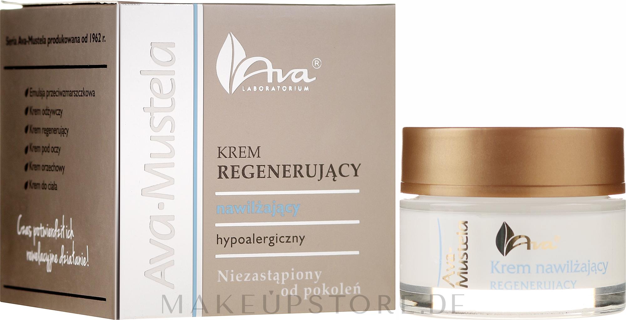 Regenerierende Gesichtscreme - Ava Laboratorium Ava Mustela Cream — Bild 50 ml
