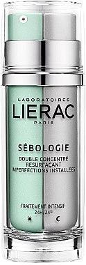 Doppelkonzentrat für Gesicht zur Korrektur von anhaltenden Hautunreinheiten - Lierac Sebologie Resurfacing Double Concentrate — Bild N1