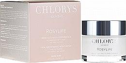 Düfte, Parfümerie und Kosmetik Glättende Anti-Falten Nachtcreme - Chlorys Rosylife High-Performance Night Cream