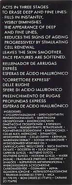 Gesichtscreme-Filler gegen tiefe Falten - Academie Comblement Rides Express Spheres Dacide Hyaluronique — Bild N3