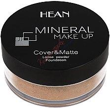 Düfte, Parfümerie und Kosmetik Loser Mineralpuder für das Gesicht - Hean Mineral Make Up Cover&Matte Loose Mineral Powder