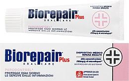 Düfte, Parfümerie und Kosmetik Zahnpasta für Zahnschmelz- und Dentinschäden mit natürlichen Extrakten - Biorepair Plus Professional Care Parodontogel