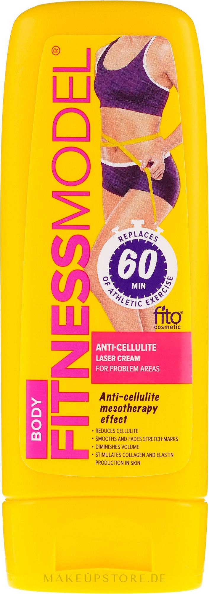 Anti-Cellulite Laser Körpercreme - Fito Kosmetik Fitness Model — Bild 200 ml