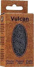 Düfte, Parfümerie und Kosmetik Bimsstein 84x44x32mm dunkelgrau - Vulcan Pumice Stone