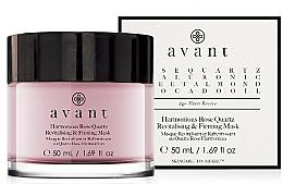 Düfte, Parfümerie und Kosmetik Revitalisierende und straffende Gesichtsmaske mit Rosenquarz - Avant Harmonious Rose Quartz Revitalising & Firming Mask
