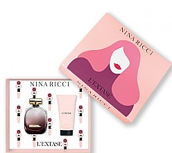 Düfte, Parfümerie und Kosmetik Nina Ricci L'Extase - Kosmetikset (Eau de Parfum/50ml + Körperlotion/75ml)