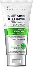 Düfte, Parfümerie und Kosmetik Beruhigender After Shave Balsam für empfindliche Haut - Eveline Cosmetics Men X-Treme After Shave Balm