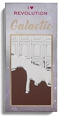 Lidschattenpalette mit 18 Farben - I Heart Revolution Chocolate Galactic