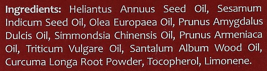 Gesichtsöl mit Kurkuma und Sandelholz - Orientana Face Oil Sandalwood & Turmeric — Bild N4