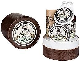Düfte, Parfümerie und Kosmetik Bartpflege Set - Mr. Bear Family Wilderness (Bartöl 30ml + Bartshampoo 250ml + Schnurrbartwachs 30ml + Bartbalsam 60ml)
