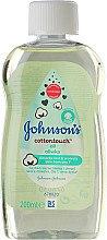 """Düfte, Parfümerie und Kosmetik Baby Massageöl """"Cotton Touch"""" - Johnson's Baby Cotton Touch Oil"""
