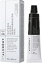 Düfte, Parfümerie und Kosmetik Natürliches Gesichtspeeling mit Reispulver und weißer Tonerde - D'Alchemy Natural Micro? Dermabrasion Peel