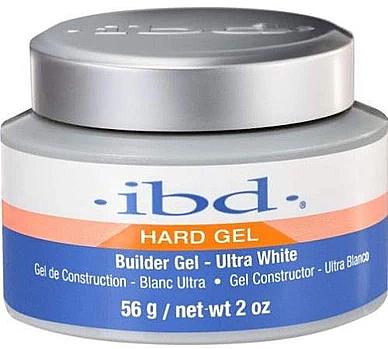 Aufbau Nagelgel ultra weiß - IBD Builder Gel Ultra White — Bild N3