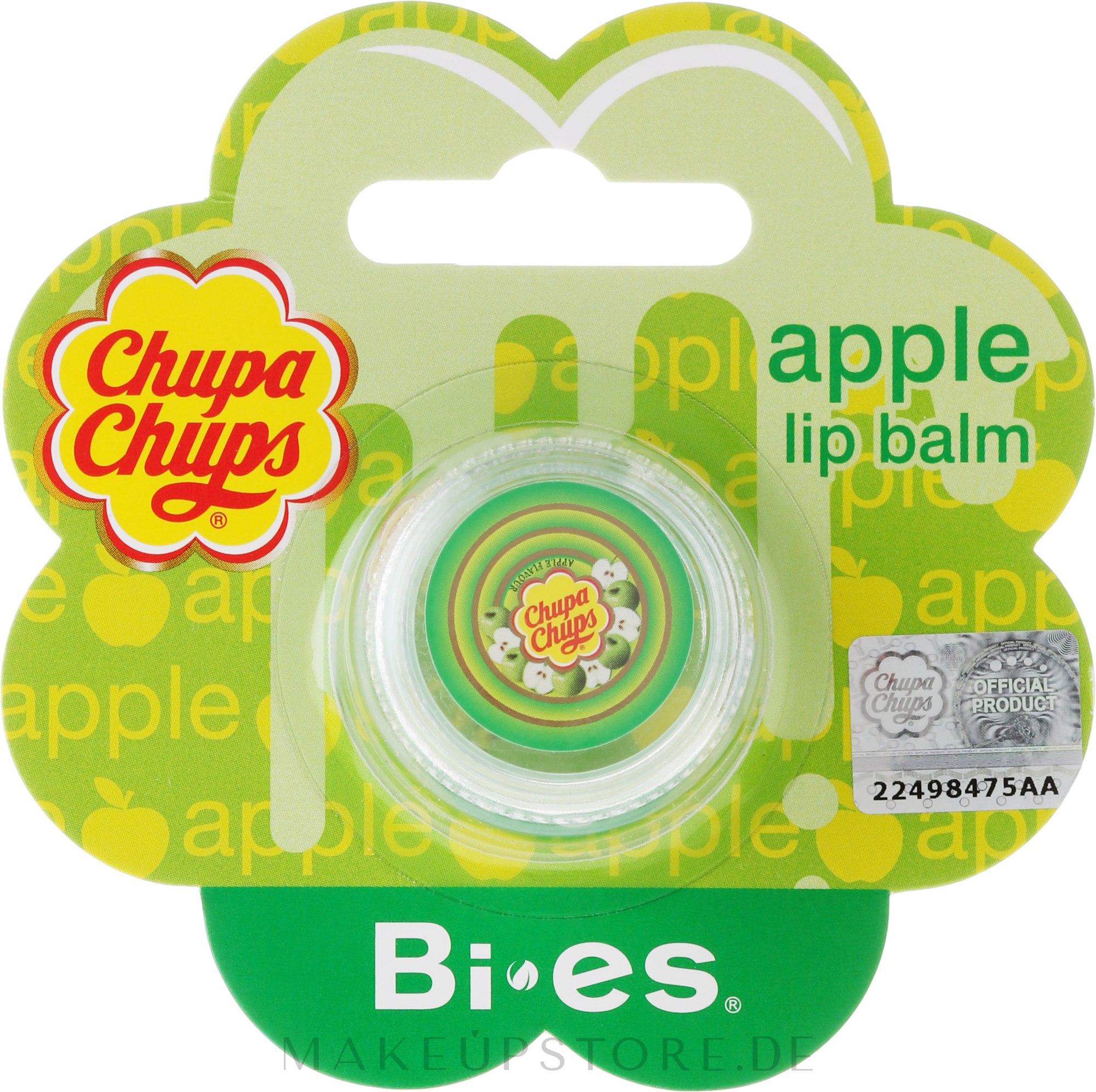 Lippenbalsam mit Apfel Geschmack - Bi-es Chupa Chups Apple Lip Balm — Bild 5 g