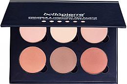 Düfte, Parfümerie und Kosmetik Highlighter- und Konturierpalette - Bellapierre Cosmetics Contour & Highlight Pro Palette