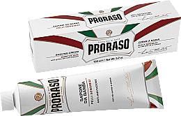 Düfte, Parfümerie und Kosmetik Rasiercreme für empfindliche Haut - Proraso White Shaving Cream