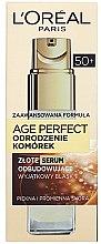Düfte, Parfümerie und Kosmetik Gesichtsserum - L'Oreal Paris Age Perfect Cell Revival Serum 50+