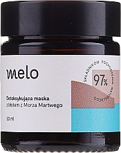 Düfte, Parfümerie und Kosmetik Gesichtsmaske zur Entgiftung mit Schlamm asu dem Toten Meer - Melo