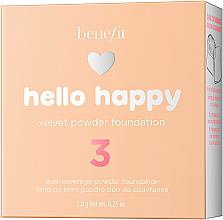 Puder-Foundation - Benefit Hello Happy Velvet Powder Foundation — Bild N5