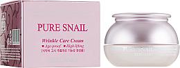 Düfte, Parfümerie und Kosmetik Anti-Falten Gesichtscreme mit Schneckenschleim - Bergamo Pure Snail Wrinkle Care Cream