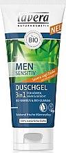 Düfte, Parfümerie und Kosmetik Duschgel 3 in 1 für Männer - Lavera Men Sensitiv Shower Gel 3 in 1