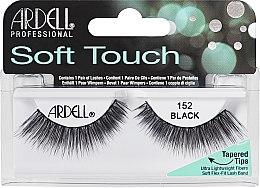 Düfte, Parfümerie und Kosmetik Künstliche Wimpern - Ardell Soft Touch Eye Lashes Black 152