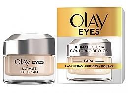 Düfte, Parfümerie und Kosmetik Augenkonturcreme gegen dunkle Ringe, Falten und Tränensäcke - Olay Eyes Ultimate Eye Contour Cream