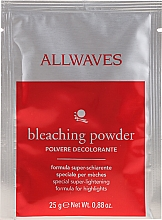 Düfte, Parfümerie und Kosmetik Aufhellender Haarpuder - Allwaves Powder Bleach