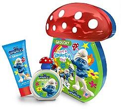 Düfte, Parfümerie und Kosmetik Marmol & Son The Smurfs Grouchy - Duftset (Eau de Toilette 50ml + Duschgel 75ml)
