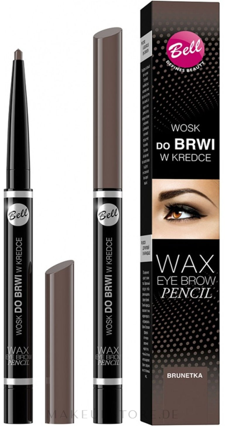 Augenbrauen Wachsstift - Bell Wax Eye Brow Pencil — Bild Brown