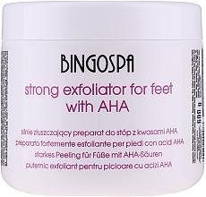 Düfte, Parfümerie und Kosmetik Starkes Peeling für Füße mit AHA-Säuren - BingoSpa Strong Exfoliant for Feet with AHA