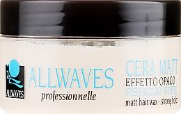 Düfte, Parfümerie und Kosmetik Haarwachs mit Matteffekt Starker Halt - Allwaves Matt Hair Wax