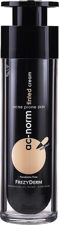 Getönte beruhigende und seboregulierende Gesichtscreme für zu Akne neigende Haut - Frezyderm Ac-Norm Tinted Cream — Bild N2