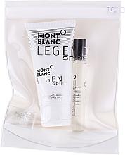 Düfte, Parfümerie und Kosmetik Montblanc Legend Spirit - Duftset (Eau de Toilette Mini 7.5ml + After Shave Balsam 50ml)