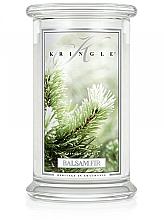 Düfte, Parfümerie und Kosmetik Duftkerze im Glas Balsam Fir - Kringle Candle Balsam Fir